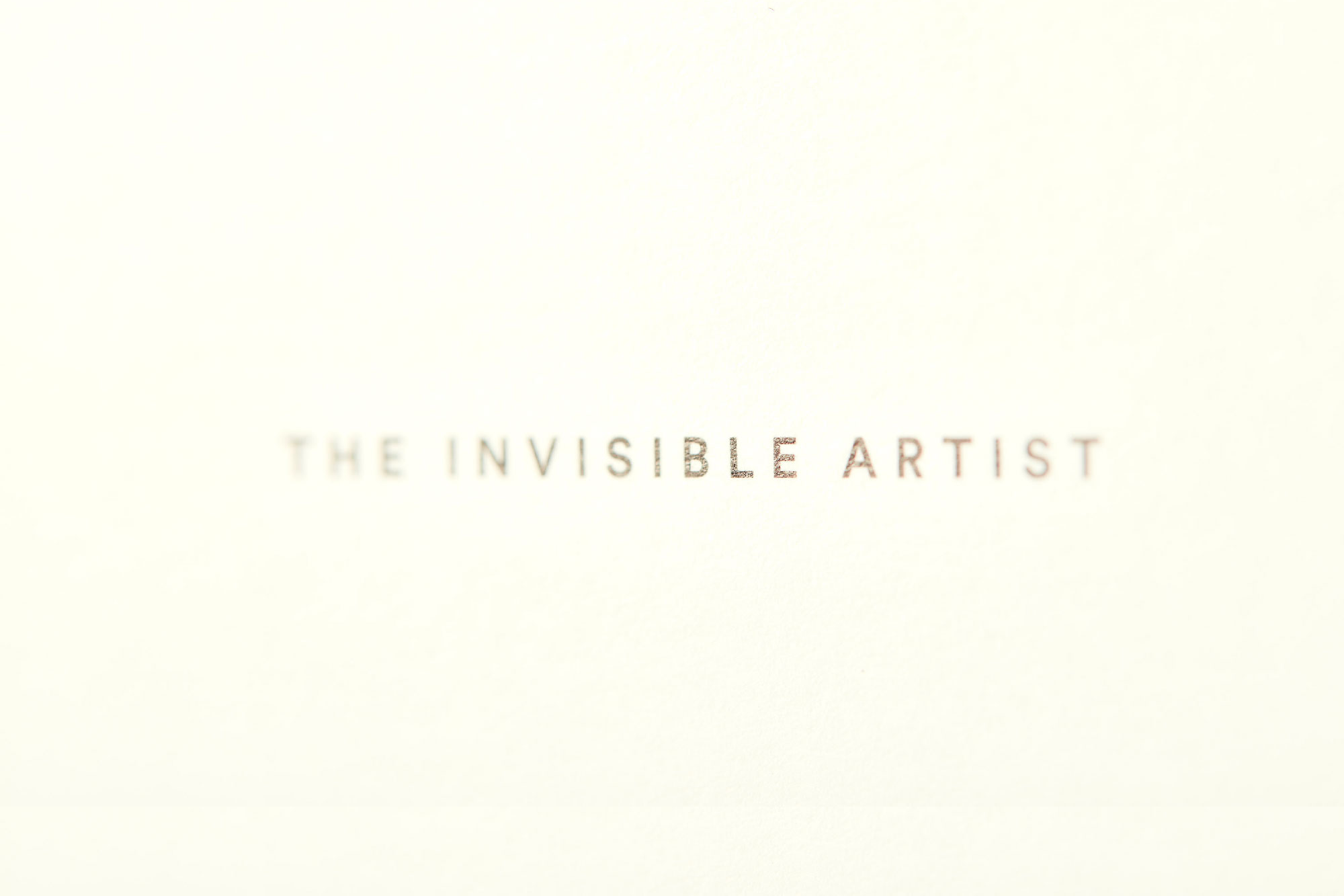 AULI London - the invisible artists
