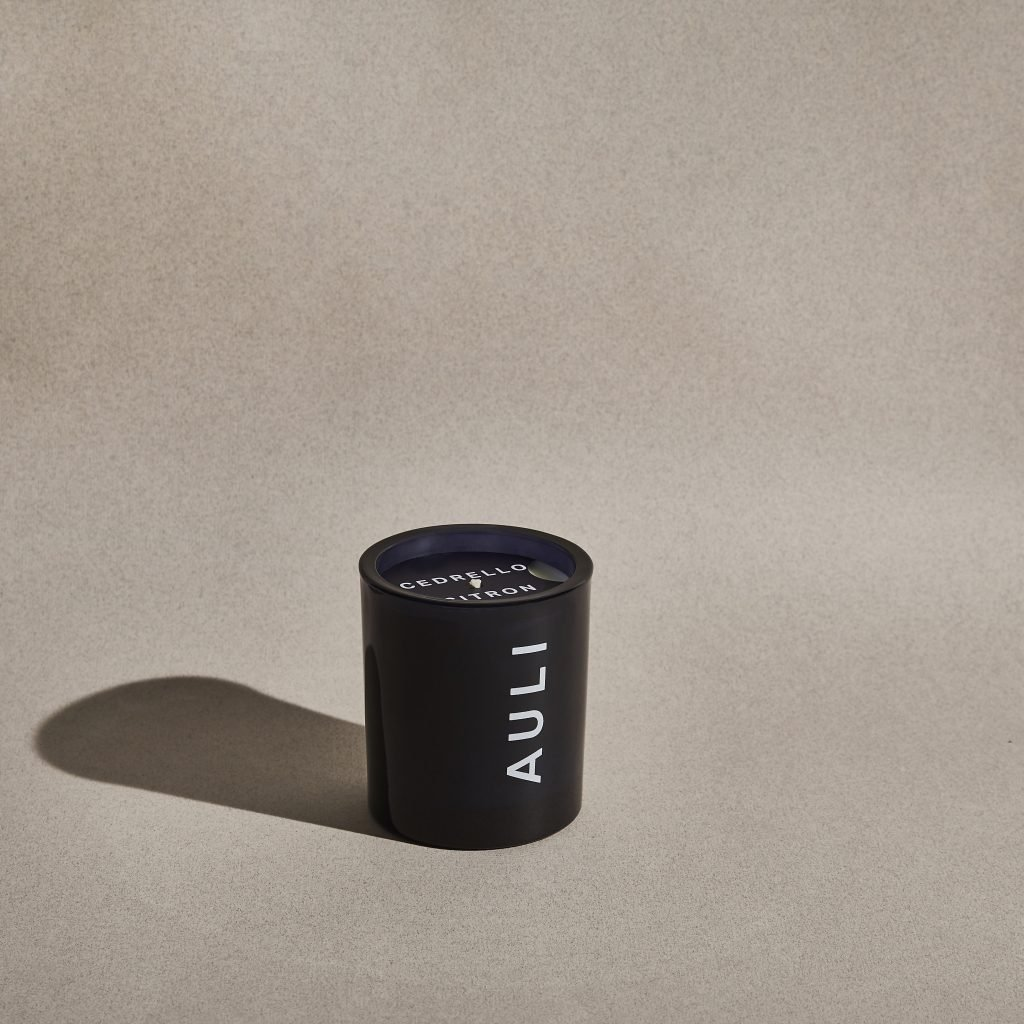 Sustainable luxury scented candle